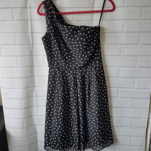 NWT white house black market one shoulder dress 4